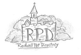 Redwall Abbey drawing